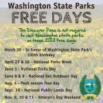 Washington State Parks Free Days information
