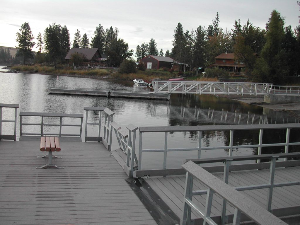 Newman Lake Fishing Dock Wildlife Recreation And Coalition